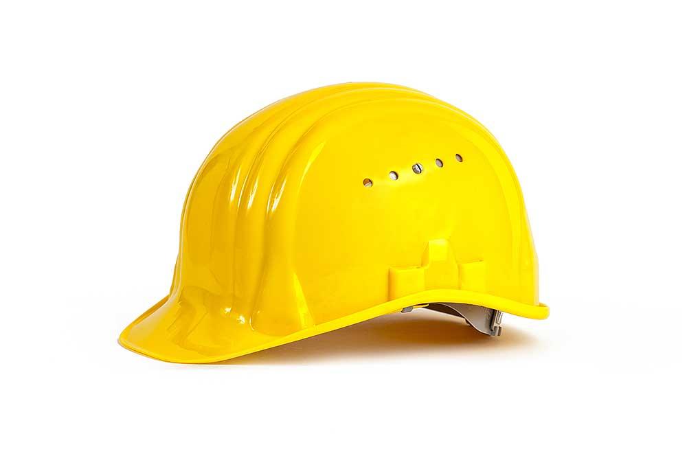 Bauarbeiter Helm