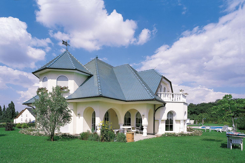 Chalet mit Dachziegel von creaton