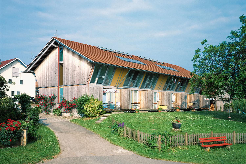 Häuser mit Dachziegel von creaton