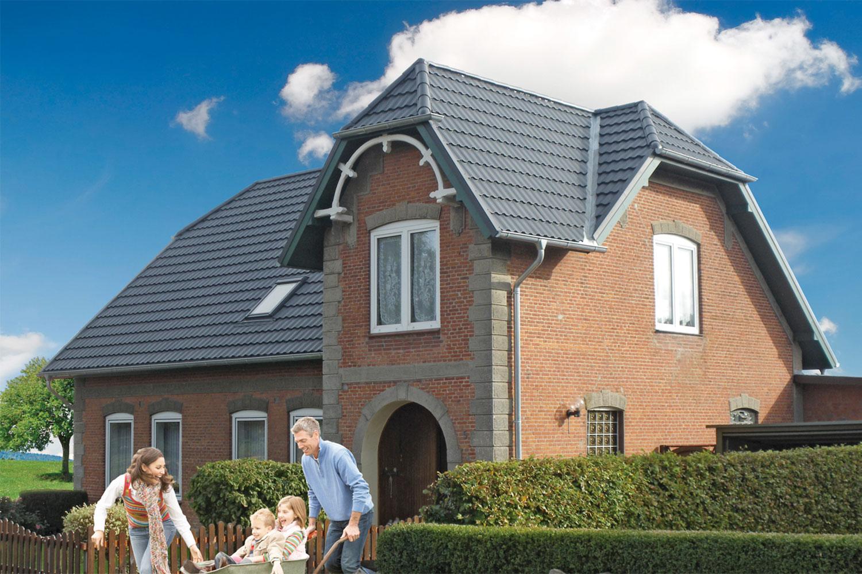 Dach Einfamilienhaus – nachher